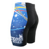 FIXGEAR ST-W23 Women's Cycling Padded Shorts REAR