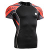 FIXGEAR C2S-B68 Compression Shirts Base Layer Short Sleeve FRONT