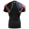 FIXGEAR C2S-B68 Compression Shirts Base Layer Short Sleeve REAR