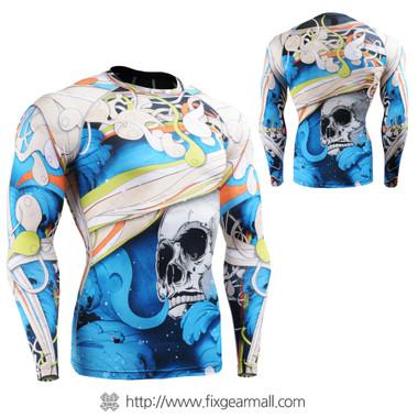 FIXGEAR CFL-19B Compression Base Layer Shirts