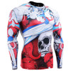 FIXGEAR CFL-19R Compression Base Layer Shirts Front