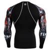 FIXGEAR CPD-B30 Compression Short Sleeve Shirts Rear