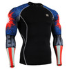 FIXGEAR CPD-B37 Compression Short Sleeve Shirts Front