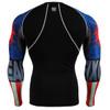 FIXGEAR CPD-B37 Compression Short Sleeve Shirts Rear