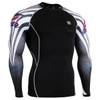 FIXGEAR CPD-B38 Compression Short Sleeve Shirts Front
