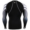 FIXGEAR CPD-B38 Compression Short Sleeve Shirts Rear