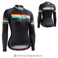 FIXGEAR CS-W201 Women's Long Sleeve Cycling Jersey
