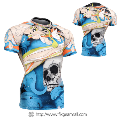 FIXGEAR CFS-19B Compression Base Layer Shirts