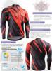 FIXGEAR CS-6801 Men's Cycling Jersey long sleeve