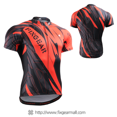 FIXGEAR CS-6802 Men's Cycling Jersey Short Sleeve