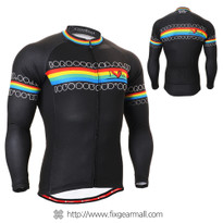 FIXGEAR CS-201 Men's Cycling Jersey long sleeve