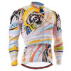 FIXGEAR CS-301 Men's Cycling Jersey long sleeve front view