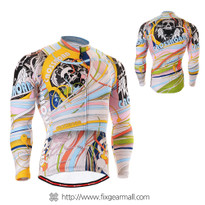 FIXGEAR CS-301 Men's Cycling Jersey long sleeve