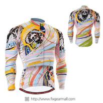 FIXGEAR CS-301 Men's Cycling Jersey long sleeve
