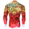 FIXGEAR CS-401 Men's Cycling Jersey long sleeve back view