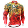 FIXGEAR CS-401 Men's Cycling Jersey long sleeve front view