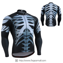 FIXGEAR CS-5501 Men's Long Sleeve Cycling Jersey