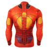 FIXGEAR CS-801 Men's Cycling Jersey long sleeve rear view