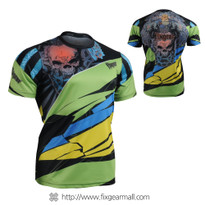 FIXGEAR RM-7402 Men's Casual short sleeve Crew-Neck T-shirt