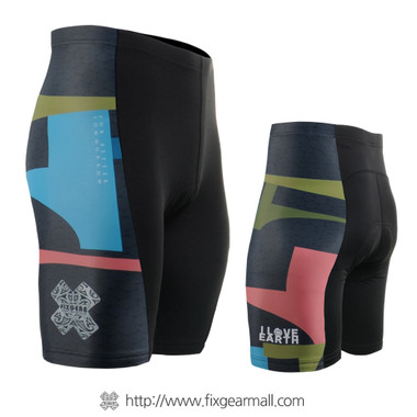FIXGEAR ST-34K Mens Cycling Padded Shorts