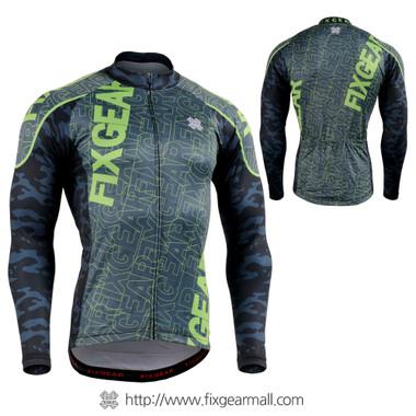 FIXGEAR CS-H101 Men's Long Sleeve Cycling Jersey