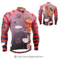 FIXGEAR CS-1601 Men's Cycling Jersey long sleeve