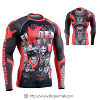 FIXGEAR CFL-H4 Compression Base Layer Shirts Heros Project