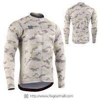 FIXGEAR CS-M1Y1 Men's Long Sleeve Cycling Jersey