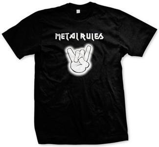 Metal Rules T-shirt