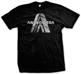 Andromeda AA logo on center chest
