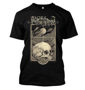 Mors Principium Est - Moonlight Skull T-Shirt