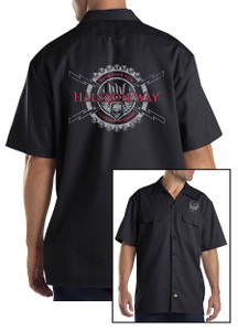 Halcyon Way - Dickies Workshirt - Red Bolts