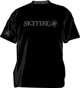 Skyfire Grey Swirl T-Shirt