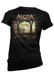 Angra - Secret Garden Tree Girls T-Shirt
