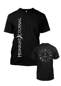 Midnight Eternal Clock T-Shirt