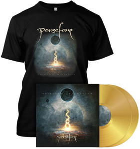 Persefone - Spiritual Migration - T-Shirt Gold Vinyl LP - Bundle