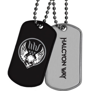 Halcyon Way - Stainless Steel Dog Tag