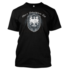 Mors Principium Est Shield T-Shirt