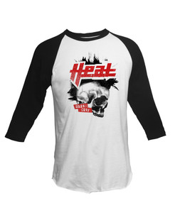 H.E.A.T - Shit City- 3/4 Sleeve T-Shirt