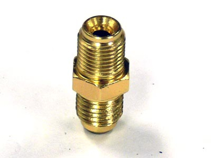 "Inverted Flare 1/4"" to -4AN Male Fitting for T25/T28 Turbos"