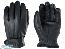 Custom leather motorcycle gloves