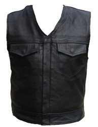 SOA Leather Vest