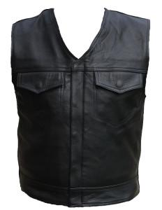 SOA Leather Vest