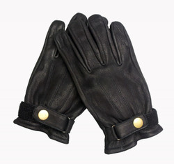 Mens Black Cruiser Gloves - Model 106