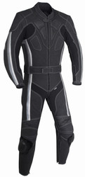 2pc Matte Black Racing Suit