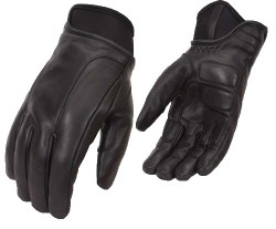 Mens Motorcycle Leather Gloves w/ KEVLAR®