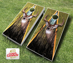 Deer Triangle Cornhole Set with Bags