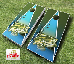 Fish Cornhole Set with Bags