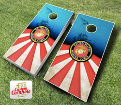 USMC Cornhole Set with Bags