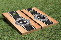Hardcourt Monogram Cornhole Set with Bags